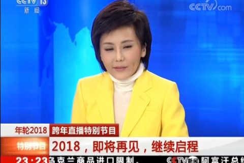 【CCTV】2018年那些使我们难忘的面孔《年轮2018》跨年直播特别节目-有杨超越