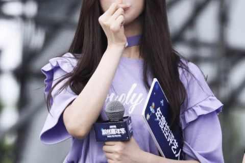 """#杨超越有梗#综艺感很强成为""""接梗王"""",看来她的老板确实有眼光"""